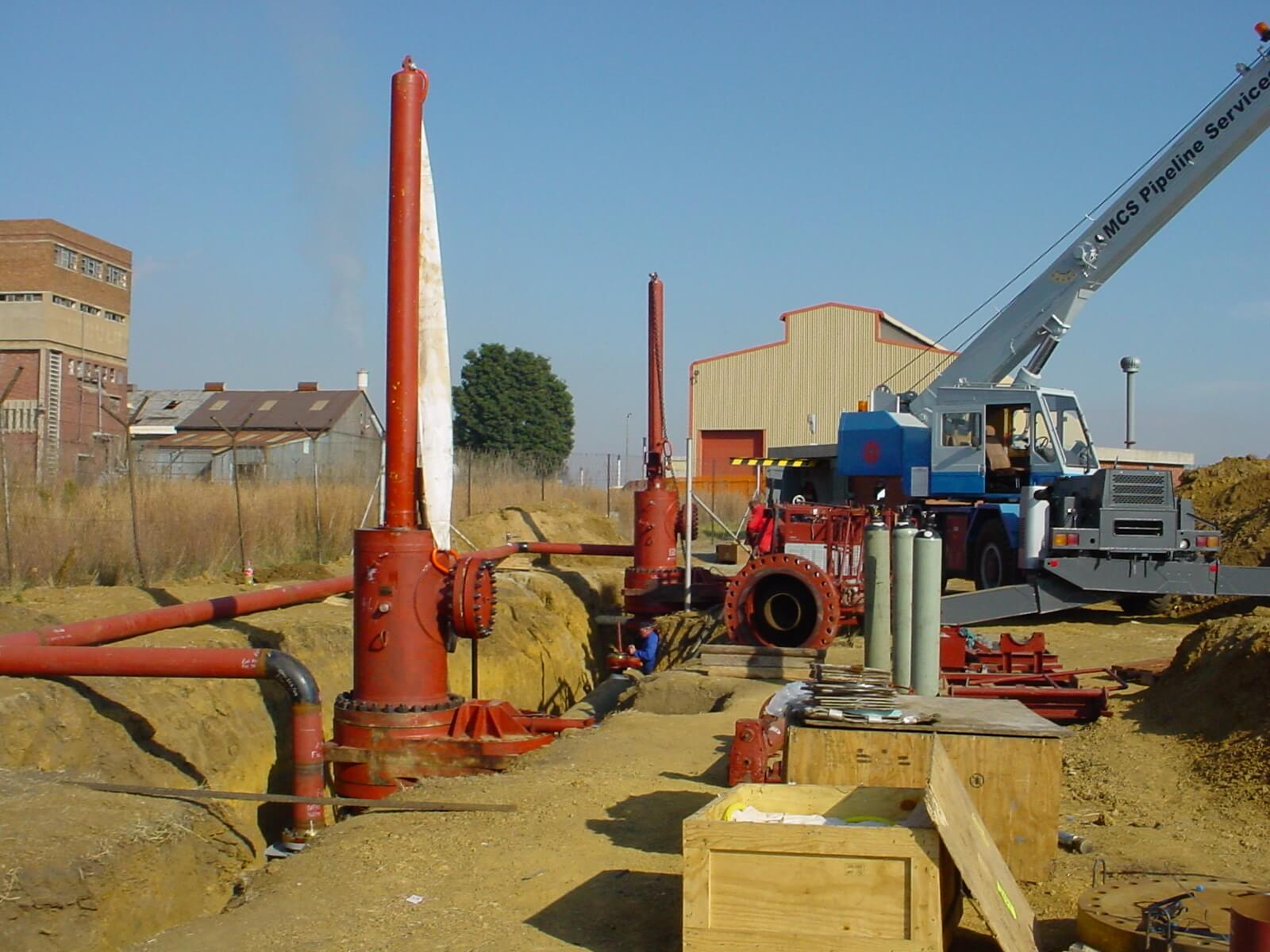 Pipeline Construction/ Hot Tapping/ HDD Projects (Frontier