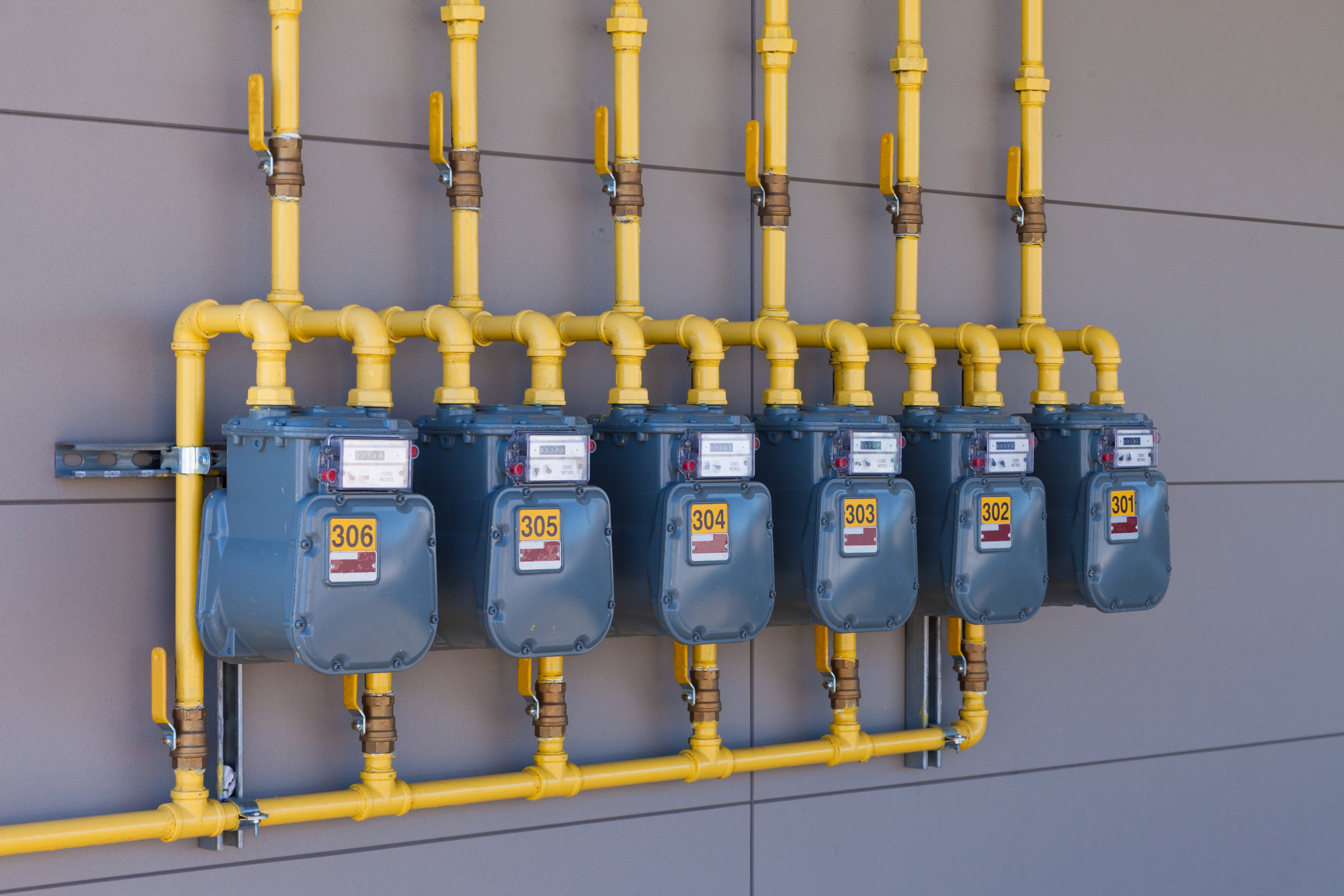 Gas Metering and Regulator Stations