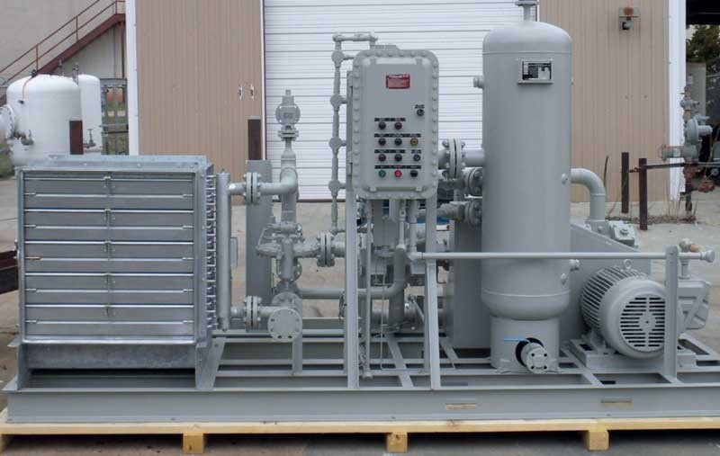Fuel Gas Booster Skid Systems